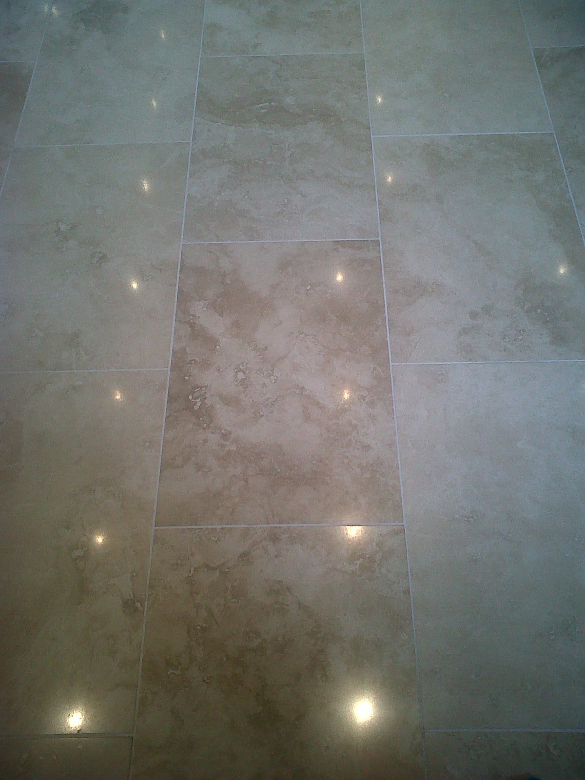 Travertine cleaning and polishing