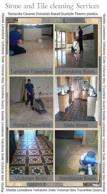 Stone floor cleaning Nottinghamshire Derbyshire Leicestershire Warwickshire Yorkshire