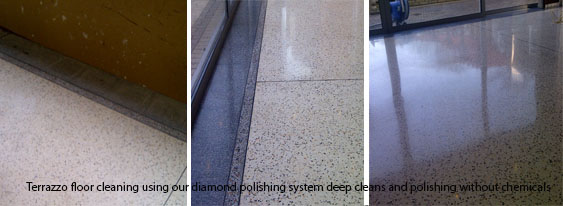 Terrazzo floor cleaning nottingham Derby Leicester Lincoln Yorkshire
