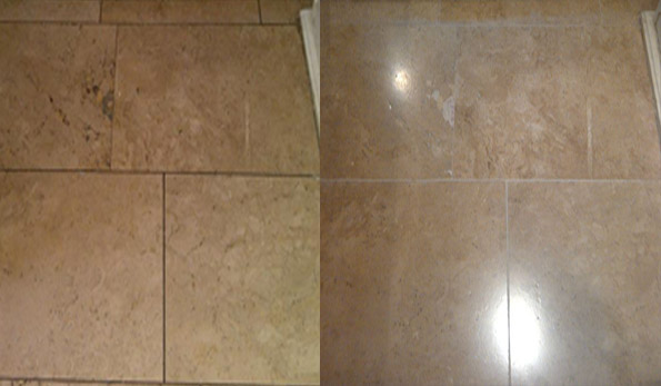 Travertine floor cleaning in Nottingham Leicestershire Lincolnshire
