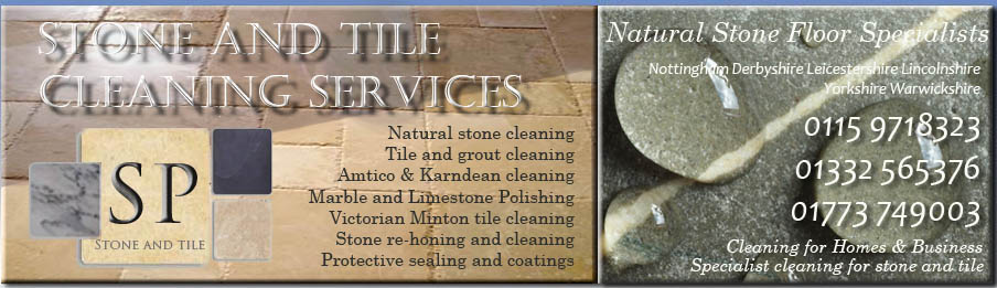 stone and tile cleaning Nottinghamshire Derbyshire